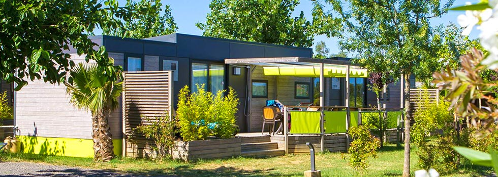 mobil home luxe hérault